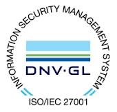 Certificazione di conformità ai requisiti della norma per ISO/IEC 27001:2016 per il seguente campo applicativo: Progettazione, commercializzazione, installazione e manutenzione di sistemi sicurezza fisica e logica, sistemi di allarme, videosorveglianza, gestione accessi, mezzi forti e serrature