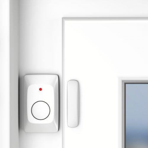 Bsmart, sistemi di allarme per aziende, GDO e retail, allarme con sensore magnetico sulla finestra