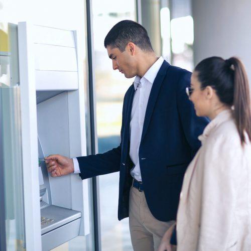 Gestione e protezione ATM da rapina al bancomat, antifurto aziendale